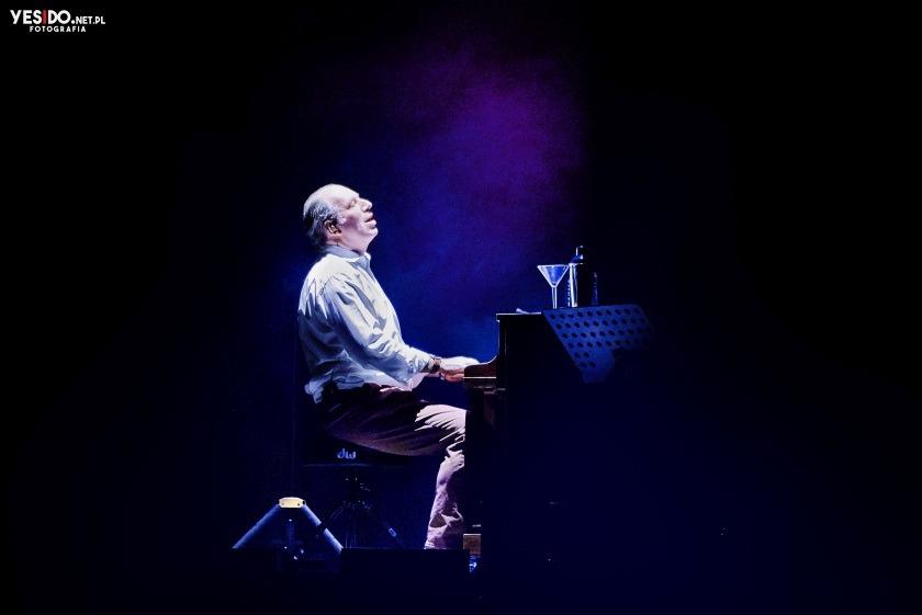 zdjęcie Hansa Zimmera na koncercie w Gdańsku