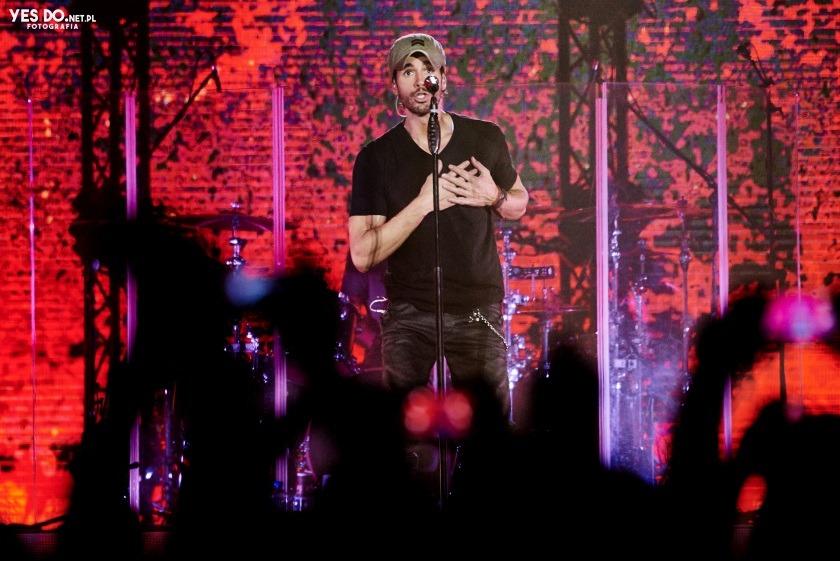 Enrique Iglesias - zdjęcia z eventu
