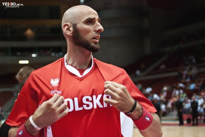zdjęcia reportażowe z meczu reprezentacji Polski w koszykówkę
