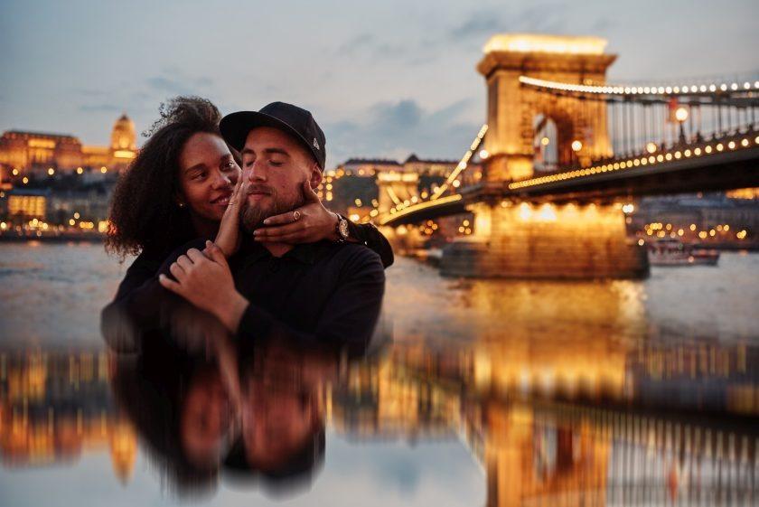 Laura i Hadrien - sesja zagraniczna w Budapeszcie