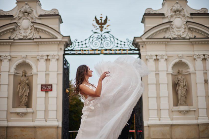 Sesja ślubna w Warszawie